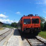 El vagón-tren a Croacia