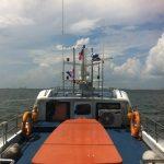 Barco a Batam (Indonesia)