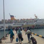 barco a Tarakan desde Pantaloan (Indonesia)
