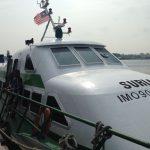 El barco rápido a Brunei