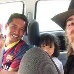 Latiffah, Razdikhan y Batrisyia, la primera familia que me subió a su coche