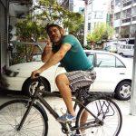 Preparado para salir de ruta gastronómica en Tainan