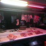En el mercado: carnicería