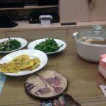 Comida preparada por la madre de Rocío