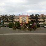 Entrada de la escuela en Tainan