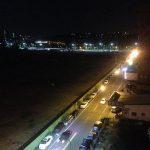Las calles de Kaohsiung de noche