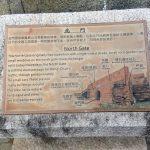 Información de una de las puertas de la ciudad